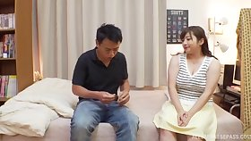 Nice love making in the bedroom with beamy babe Nakamura Tomoe