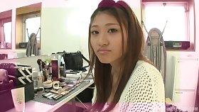 Charming girl Sarii Aisahara seduces plus rides a taking stud