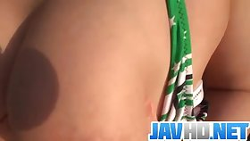 Megumi Haruka amazes in outdoor blowjob scene  - More within reach JavHD.net