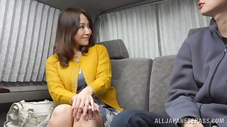 Naughty Asian blonde is in for a stubborn cock in POV