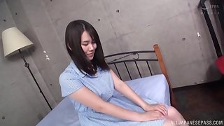 After fingering and amazing blowjob wits Isumi Rion everything is ameliorate