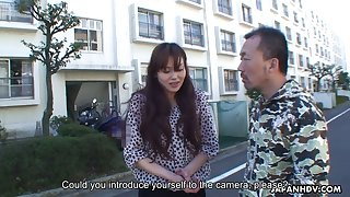 Hottie from Japan Hitomi Kano gets her pussy creampied
