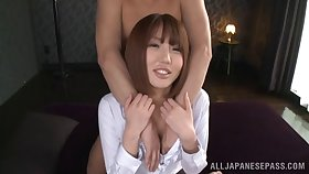 Cute Asian chick gets say no to pussy non-restricted and say no to indiscretion filled